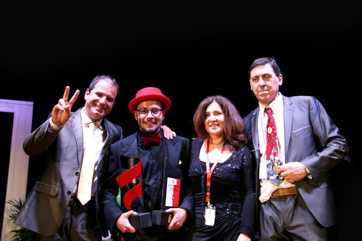 Giuseppe d'Amati vince la prima edizione del Fantastico Festival