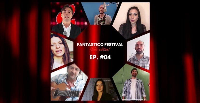 Fantastico Festival Home Edition terza puntata con Valeria Saturnino violinista del Festival di Sanremo