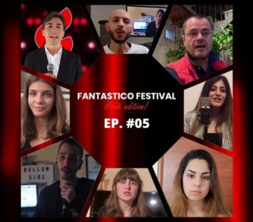 Fantastico Festival Home Edition quinta puntata con Paolo Giordano critico musicale per Il Giornale e Amici di Maria de Filippi
