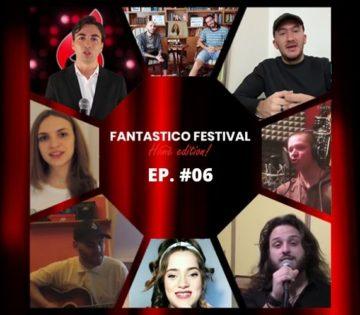 Fantastico Festival Home Edition sesta puntata con Simone Frulio, cantautore