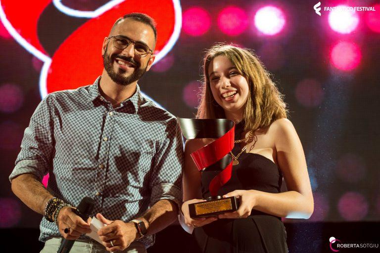 Dario Spada di Radio 105 e Rebecca Clara Scarfò